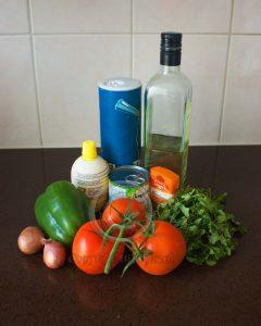 Ingrediënten salade; Ingrediënten Marokkaanse salade