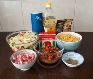 Soep ingrediënten; ingrediënten Italiaanse soep