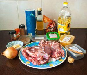 Ingrediënten pork vindaloo