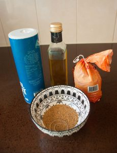 Specerijen; specerijen met azijn en suiker