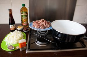 Ingrediënten stoofgerecht; Jamie Oliver; stoofvlees met bier