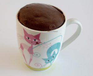 Mug cake; mok met mug cake;